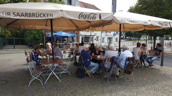 """Restaurant und Tapasbar """"Gasthaus Pulvermüller"""" in Saarbrücken St. Arnual"""