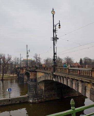 Most Legií: Stunning bridge