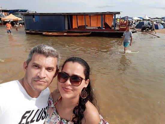 Festival de Praia em Costa Marques, Rio Guaporé, RO