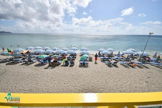 Vibes Beach Bar & Grill, Frigate Bay Beach, St Kitts
