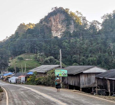 Local houses at Pang Mapha Viewpoint