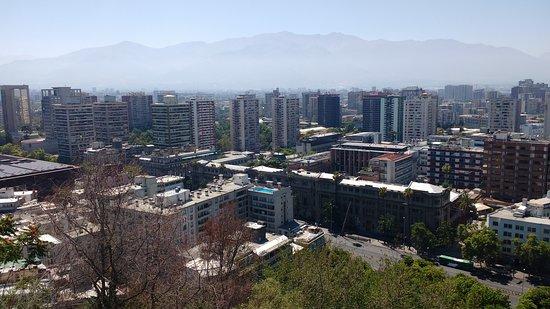 Vista do alto do Cerro.