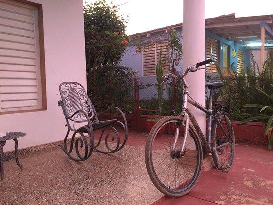 Villa EL Fausto. Tata: Veranda and rocking chairs