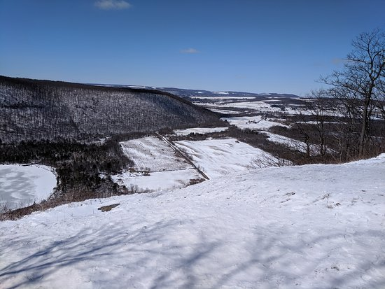 View from the scenic overlook