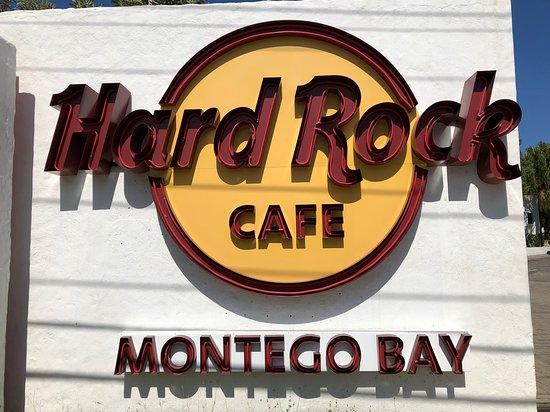 Hard Rock Cafe: HRC Sign MoBay