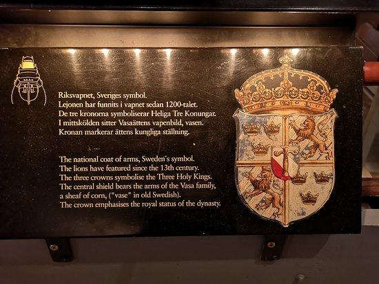 Μουσείο Βάσα: One of the many signs worth reading