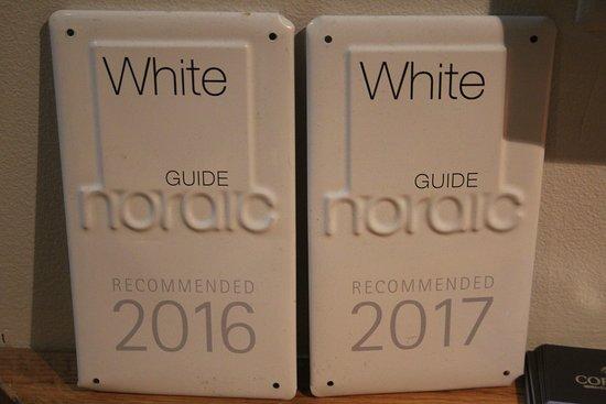 Restaurant Cornelius: White guide