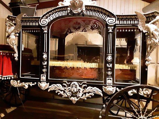 An old hearse, creepy! :)
