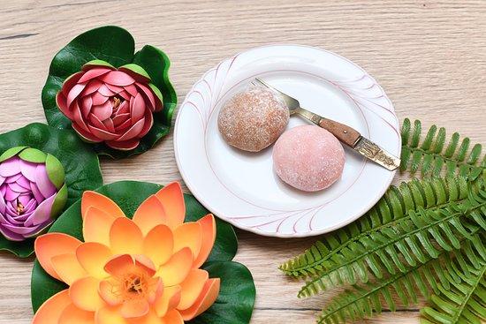 Mochis :délicieux coeur de glace recouvert de pâte de riz (pas vraiment thaïlandais mais irrésistible!)