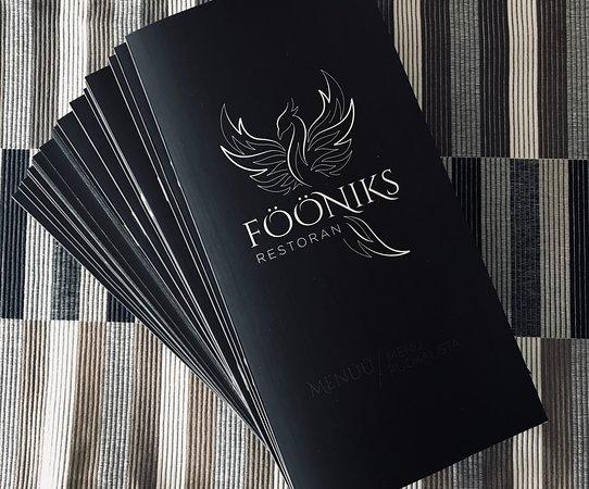 Parnu County, Εσθονία: Meie uued menüüd / new menu
