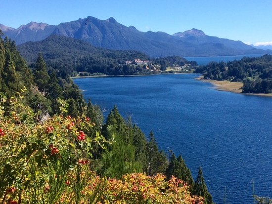 Ride around this lake