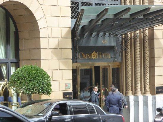 Omni San Francisco Hotel: Door