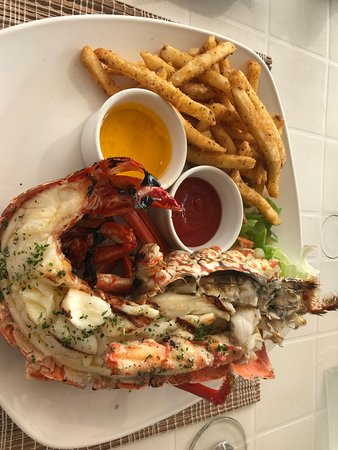 Amazing lobster dishes