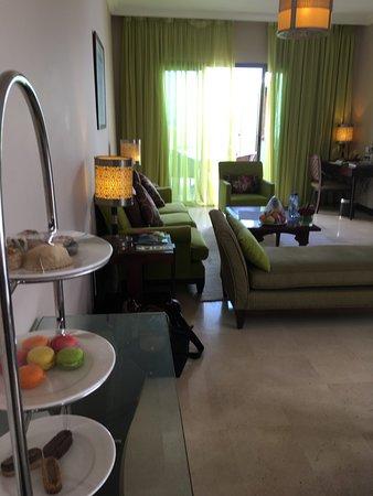 Hôtel Sofitel Agadir Royal Bay Resort: Living room in villa
