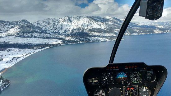 Lake Tahoe by helicopter