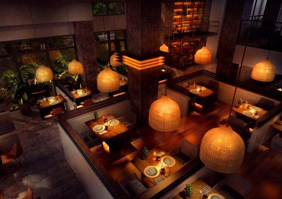 Yomitan-son, Japan: GLAMDAY STYLEのメインダイニング「BAR&RESTAURANT TASTE」 は、今までになかった新しいタイプのBARレストラン。沖縄県産の食材を中心に、泡盛、シャンパンやワイン、ウィスキーに合う料理でおもてなしいたします。