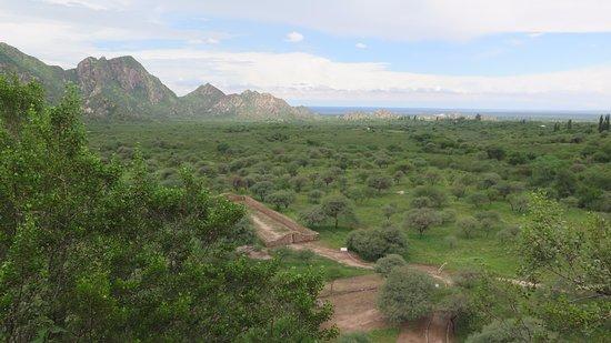 Ruinas de El Shincal: Vista de las ruinas