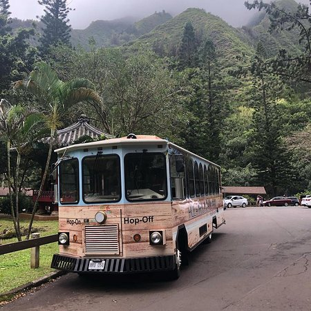 Paia, Hawaï: The hula Hula Hopper exploring Iao Valley