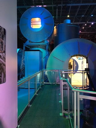 U.S. Space and Rocket Center: 観覧ツアー入り口