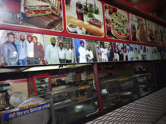 Lucky Dhaba - Food counters