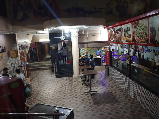 Lucky DhAba: inner view