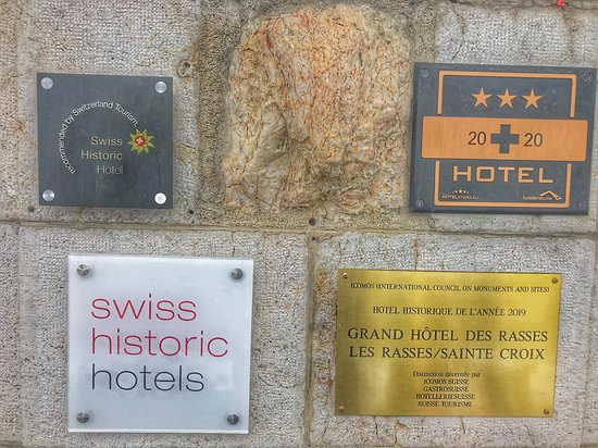 Sainte-Croix, Switzerland: distinctions