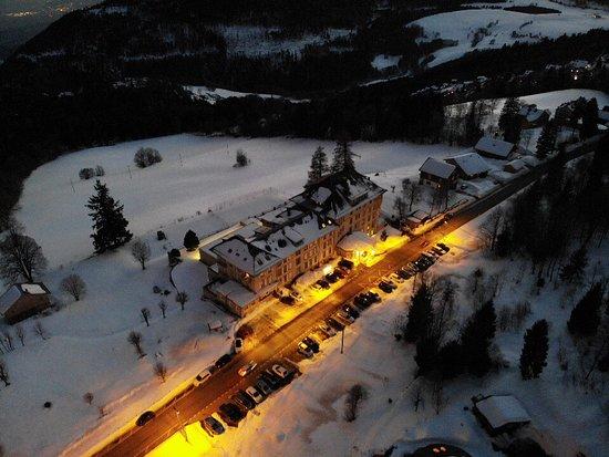 Sainte-Croix, Switzerland: un soir d''hiver