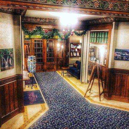 Sainte-Croix, Switzerland: Hall d'entrée