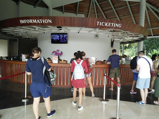 Sacred Monkey Forest Sanctuary: the ticketing office