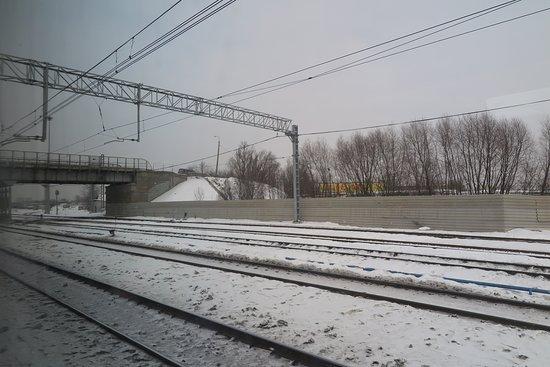 High-Speed Train Sapsan: ทัศนียภาพตลอดเส้นทางจะเป็นแบบนี้ครับ