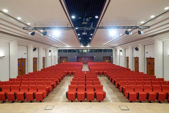 Teatro Congressi Pietro d'Abano: Sala Plenaria (foto dal palco)