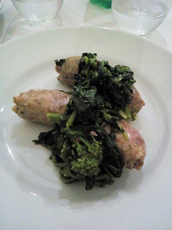 Ragu Osteria: salsicce e friarelli