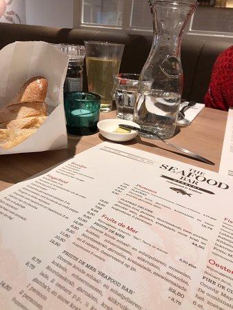 The Seafood Bar Utrecht: Prima kaart!
