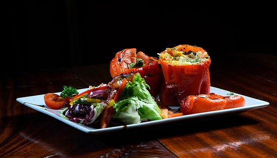 The Hogan Stand: Roasted Stuffed Peppers