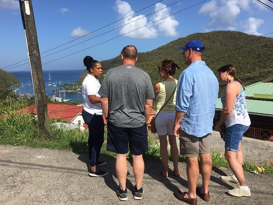 Discover Soufriere: Marigot Bay Viewing Stop
