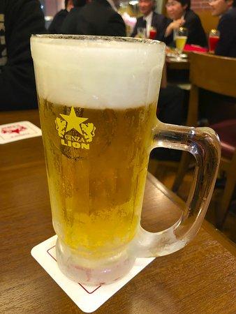 Ginza Lion Leo Ginza Inz: ビール