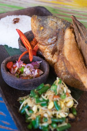 Come try our fresh Jimbaran seafood and you'll be glad you did!