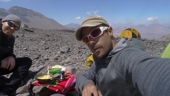 Expedición El Plomo, Chile