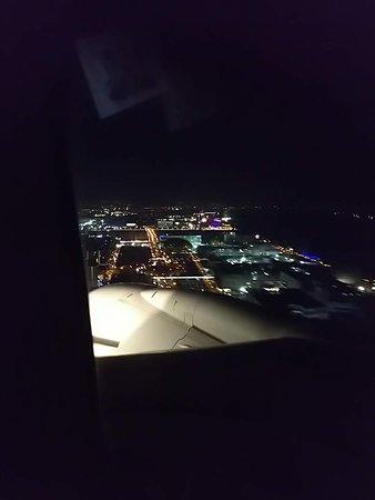 Japan Airlines (JAL): マニラ空港着陸直前
