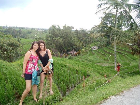 with Ms. Veronika, Hana, Yana and Karolinka from Czech Republic on February 20th-26th 2019 Loc. Jatiluwih Rice Terrace