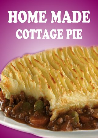 Star Nergis Cafe: Home Made Cottage Pie with Veg & Gravy