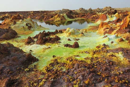 Trek Ethiopia Travel and Tours: Salt mine /volcano trip