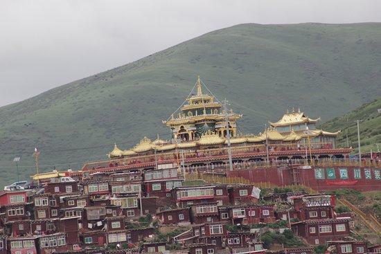 Serta Larung Gar Monastery in Garze Tibetan Autonomous Prefecture, Sichuan Province