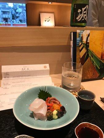 Amazing Japanese food experience
