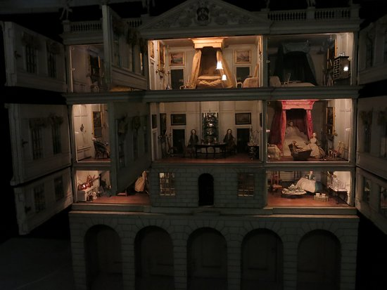The dolls house...