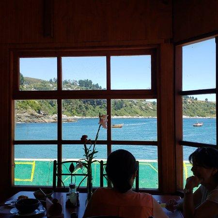 Sabores de la Costa: Vista desde nuestro hermoso local