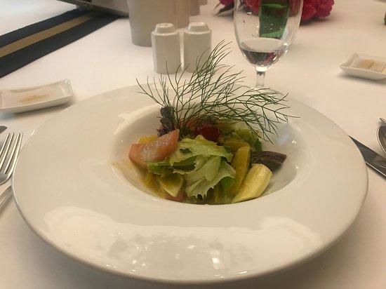 The Oberoi Cecil, Shimla: Chef's salad
