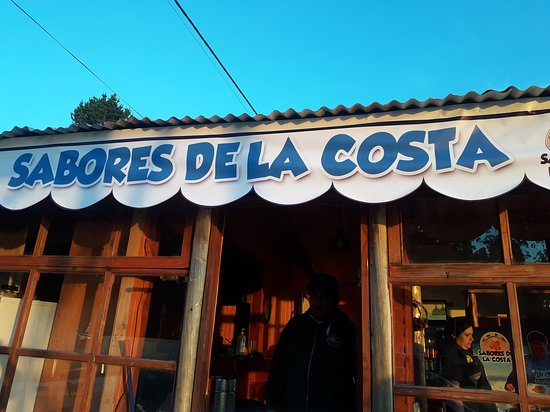 Sabores de la Costa: Vista de nuestro local ..