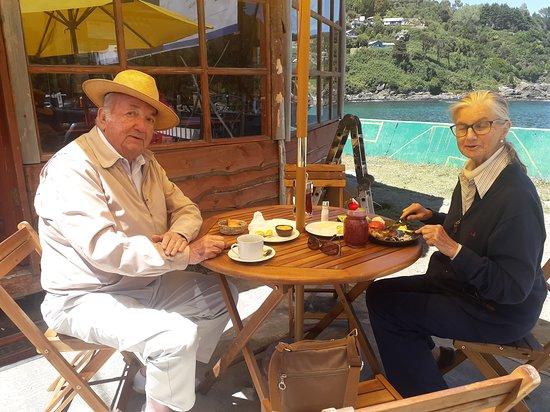 Sabores de la Costa: Nuestros clientes .. desde Santiago