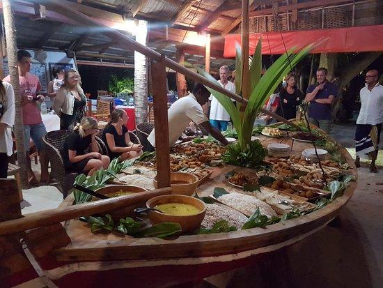 Casa Barabaru: Cena Maldiviana